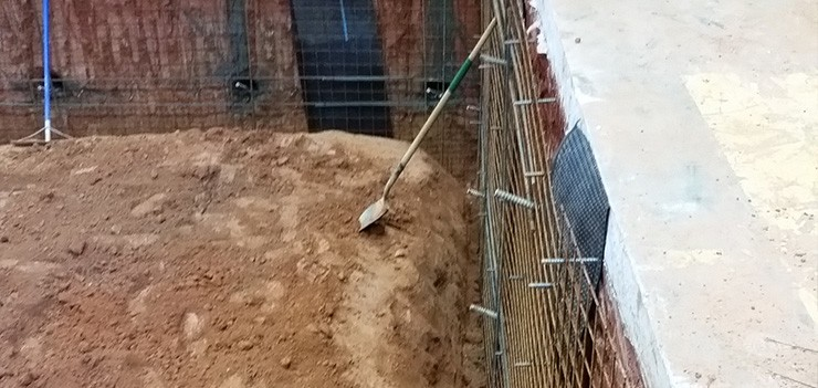 Soil nailing stabilization services nc sc and southeast for Soil nail wall
