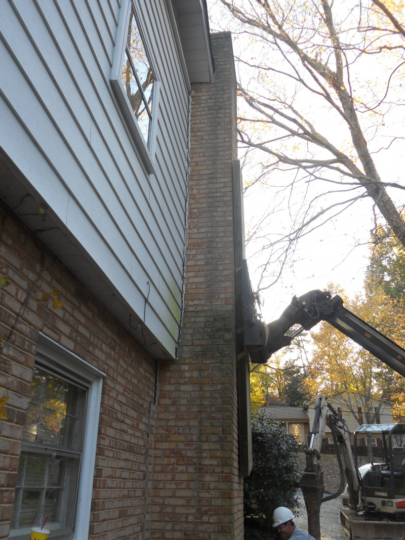 Leaning Chimneys Foundation Repair Services Inc