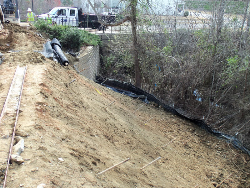 Slope Stabilization - Foundation Repair Services, Inc
